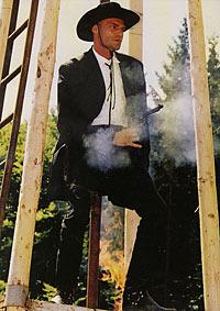 Martin Exel als Ölprinz bei den Karl May Festspielen Gföhl 2000