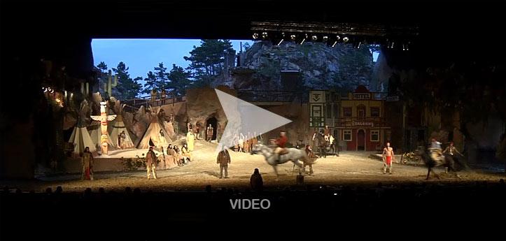 Video zu den Winnetou Festspielen Winzendorf